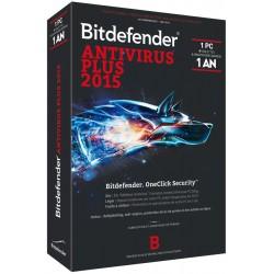 Antivirusinė programa BitDefender Antivirus Plus 2015 1 User (1 metai)