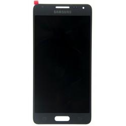 Samsung Galaxy Alpha G850F lcd ekranas su lietimui jautriu stikliuku pilkas