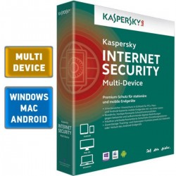 Antivirusinė programa Kaspersky Internet Security 2015 Multi-Device 1ireng. 1metai nauja licencija